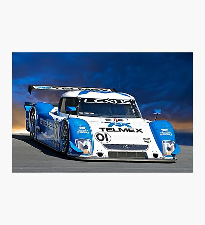 American LeMans 2008 I Photographic Print