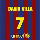 DAVID VILLA I PHONE CASE by morigirl