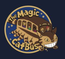 The Magic Catbus Kids Tee