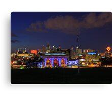 Kansas City Night Canvas Print