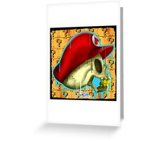Dead Heroes, Mario by AntErrickson 	 Greeting Card