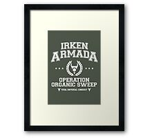 Irken Armada Framed Print