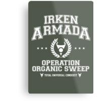 Irken Armada Metal Print