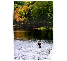 FlyFishing the River Poster