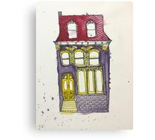 Tall House by Rose Parker Canvas Print