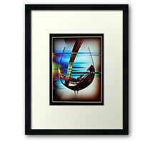 Glass Rise Framed Print