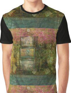 The Forest Landscape Meditation  Graphic T-Shirt