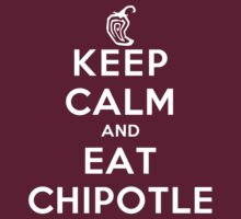 Keep Calm and Eat Chipotle (Pepper) DS by rachaelroyalty