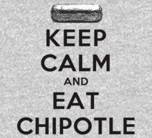 Keep Calm and Eat Chipotle (Burrito) T-Shirt