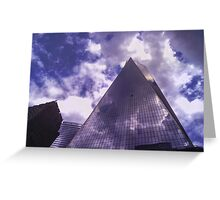 One World Trade Center - Looking UP Greeting Card
