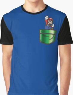 Mario Pipe Pocket Graphic T-Shirt