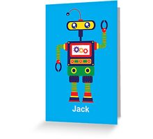 robot Greeting Card