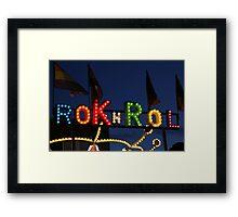 Rok n Rol Framed Print