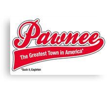 Pawnee (Parks & Recreation) Canvas Print