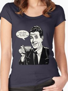 Retro Zombie Humor Women's Fitted Scoop T-Shirt