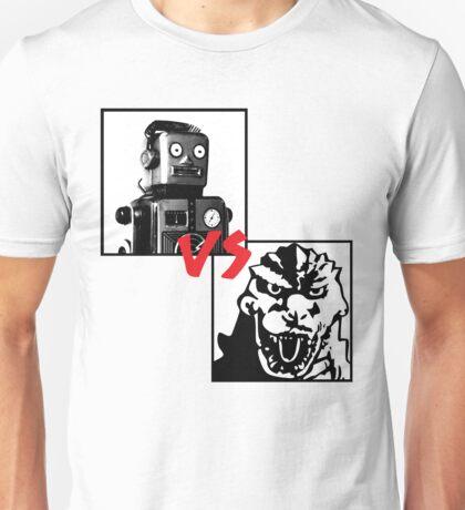 Robots Vs Monsters Unisex T-Shirt