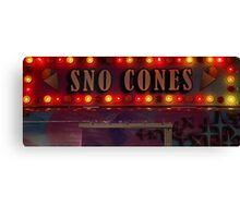 Sno Cones Canvas Print