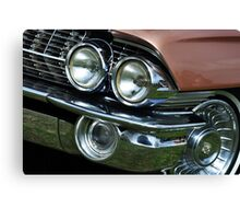 Chrome Bumper 05 Canvas Print