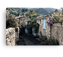romantical Provence Canvas Print