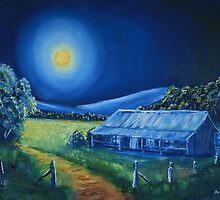 Moonlit Country by Anthony Superina