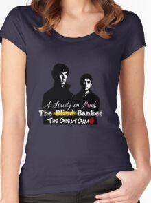 Sherlock Series 1 Women's Fitted Scoop T-Shirt