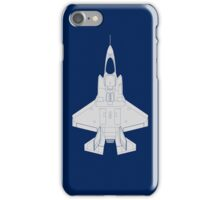 Lockheed F-35B Lightning II (Light) iPhone Case/Skin
