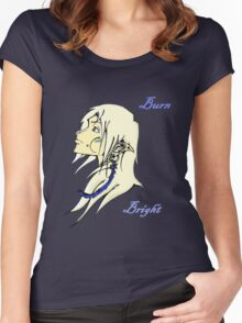 Burn Bright - Elf Women's Fitted Scoop T-Shirt