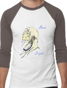 Burn Bright - Elf Men's Baseball ¾ T-Shirt