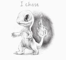 I chose Charmander by rockyhammer