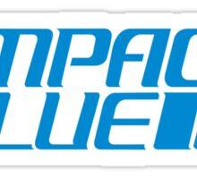 Impact Blue Sticker