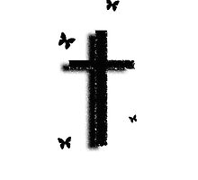 The Cross, Butterfly by henryang