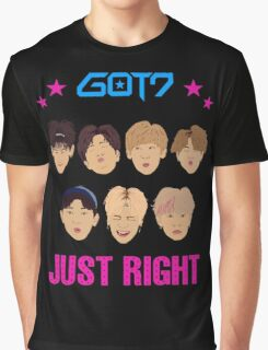 Got7 Just Right Graphic T-Shirt