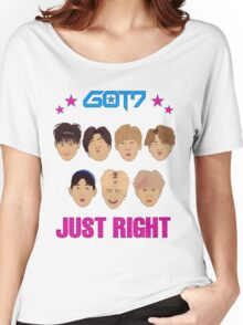 Got7 Just Right Women's Relaxed Fit T-Shirt