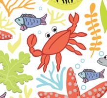print Sea Sticker