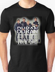 DURAN DURAN PAPER GODS TOUR 2015 T-Shirt