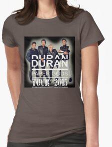 DURAN DURAN PAPER GODS TOUR 2015 Womens Fitted T-Shirt