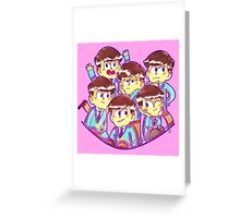 Osomatsu-San's Greeting Card