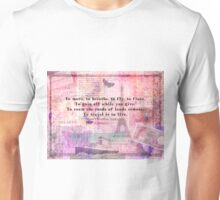 Travel Quote by Hans Christian Andersen Unisex T-Shirt