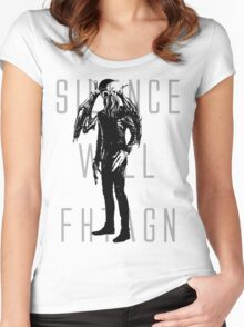 Silence Will Fhtagn Women's Fitted Scoop T-Shirt