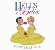 Team Hell's Belles (shirt) by Rowan McKeough