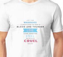 Kushiel's Legacy - Typography - Quote Unisex T-Shirt