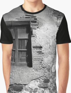 Weathered Plaster Graphic T-Shirt