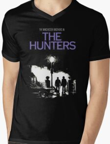 The Hunters (Supernatural & The Exorcist) Mens V-Neck T-Shirt