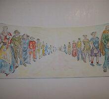 Watercolors by atelierwilfried