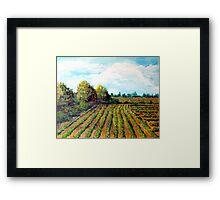 The Butter Bean Patch Framed Print