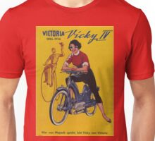 Vintage poster - Moped Unisex T-Shirt