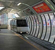 Sydney Monorail station, Darling Harbour (interior) by Property & Construction Photography