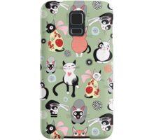 funny cats Samsung Galaxy Case/Skin