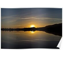Menteith Sunset Poster