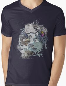 Wolf love Mens V-Neck T-Shirt
